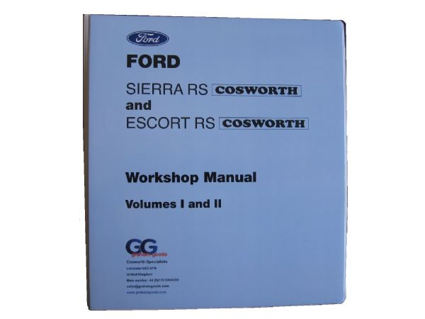 Workshop Manual Sierra Sapphire Escort Cosworth Volume 1 &2 Folder GGR1500